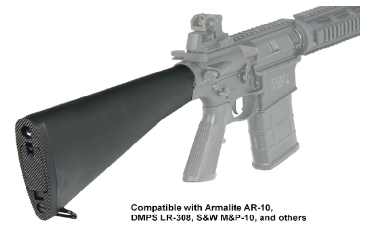 UTG AR308 AR 10 A2 Style Fixed Buttstock Complete Assembly