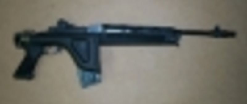 CHOATE Ruger Mini-14 Folding Stock (Stainless)